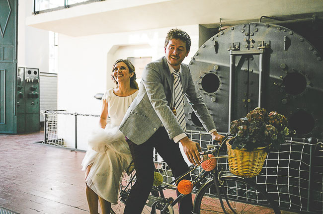oldpowerstation-wedding- bike