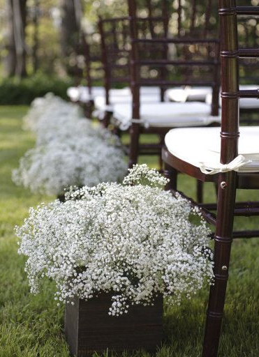 Flores en las bodas
