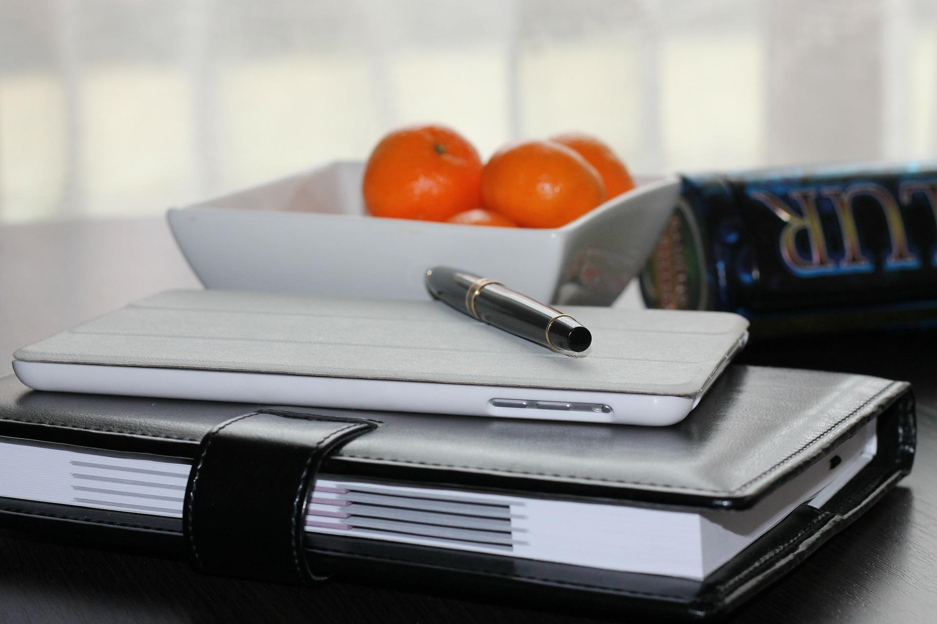 Anota en una agenda todas las tareas que debes realizar