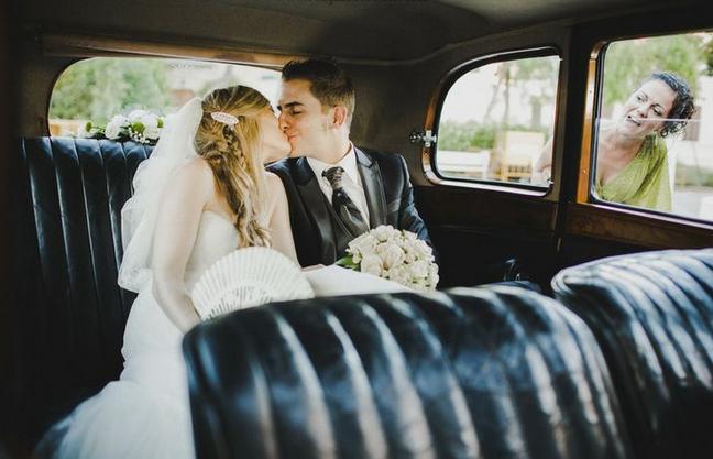 coche antiguo para bodas