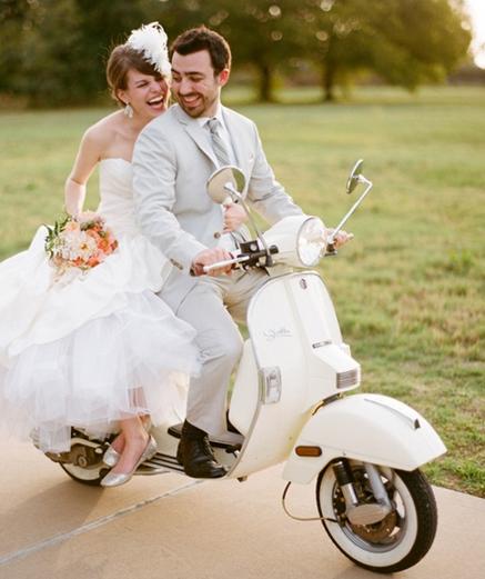 vespa para boda