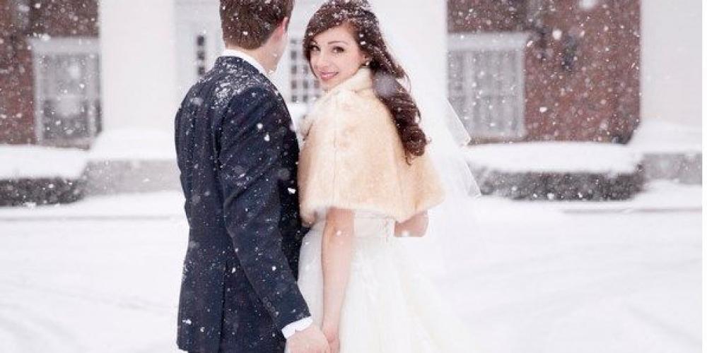 5 ventajas de casarse en invierno