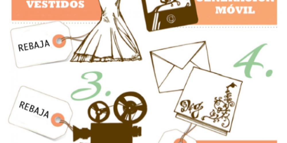 5 formas de ahorrar en los gastos de la boda