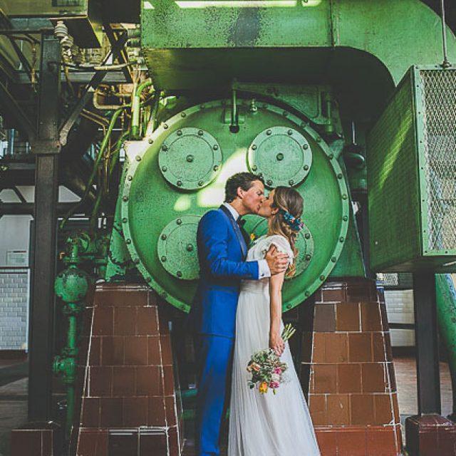 Una boda en una antigua fábrica de energía
