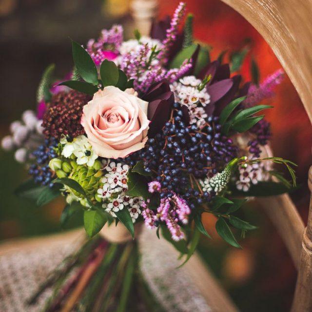 Ramos de novia para una boda en invierno