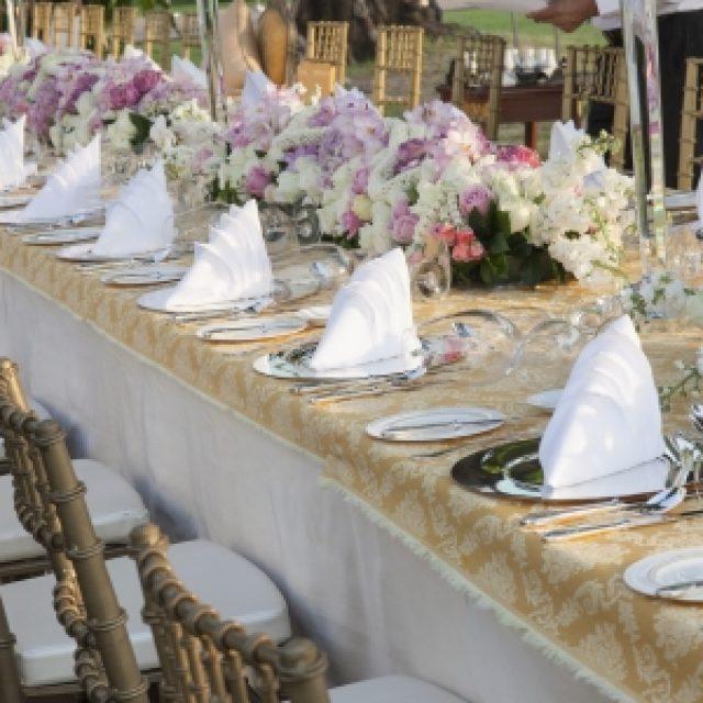Caminos de flores en tu boda